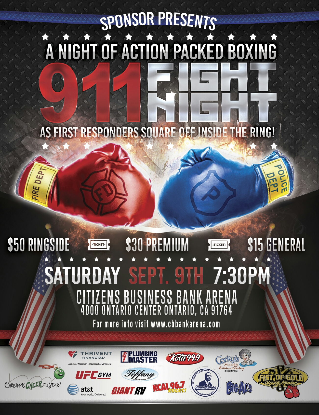 9-1-1 Fight Night